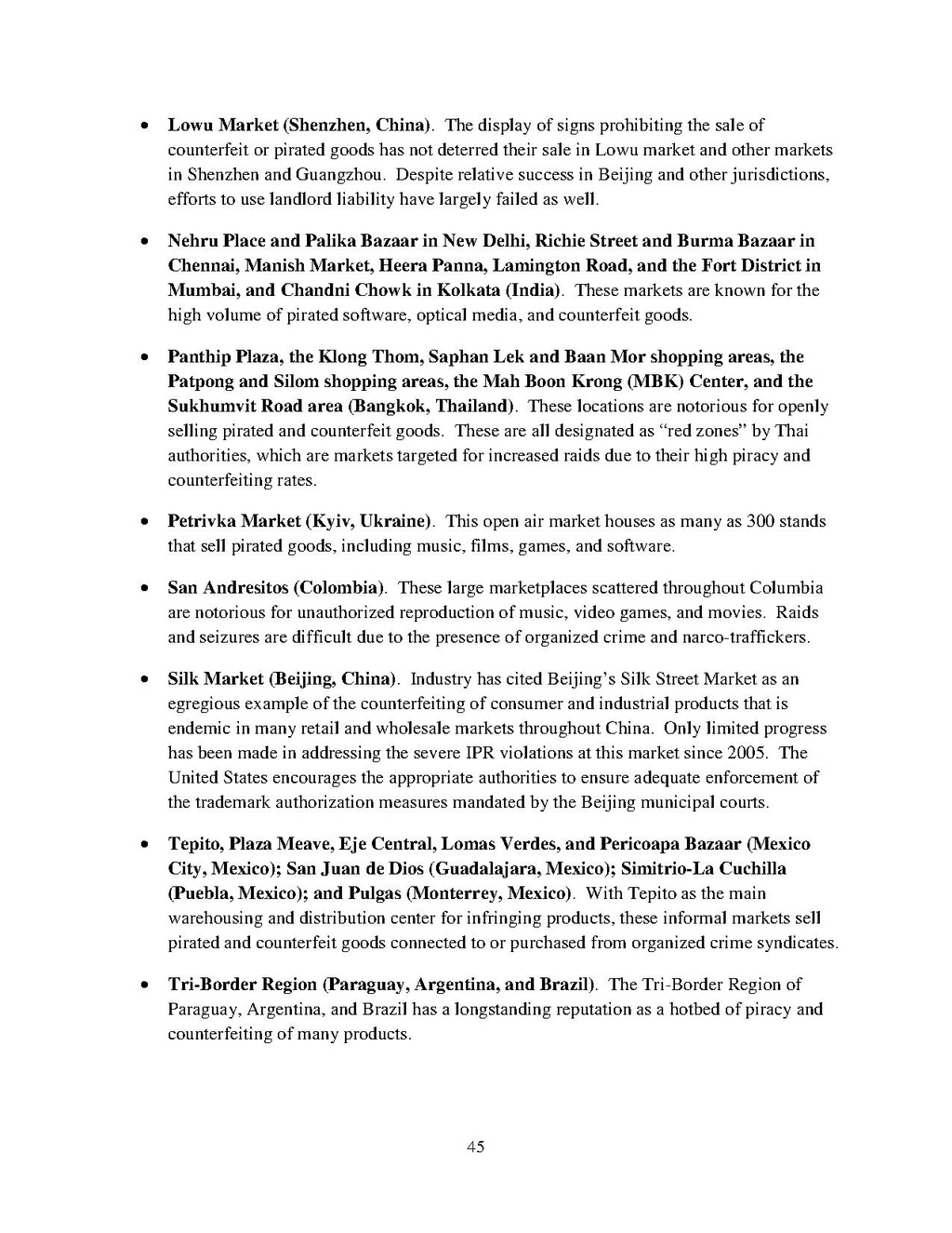 Page:Special 301 Report 2010 pdf/49 - Wikisource, the free online