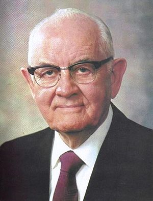 Acting President of the Quorum of the Twelve Apostles - Image: Spencer W. Kimball 3