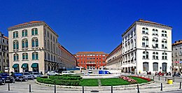 The Prokurative, now Republic Square, developed during the Mayoralty of Dr.Bajamonte and designed in 1859.