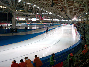 2016 World Allround Speed Skating Championships - Image: Sportforum Berlin Hohenschönhausen