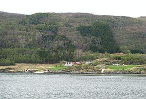 Dyrøy - View of a farm in Dyrøy