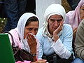 Srebrenica Massacre - Reinterment and Memorial Ceremony - July 2007 - Women Mourners 3.jpg