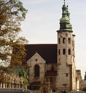 Sieciech - Saint Andrews Church in Cracow founded by Palatine Sieciech