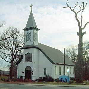 St. Ignatius Church (Oxon Hill, Maryland) - St. Ignatius Church, December 2010