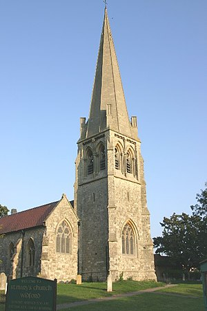 Widford, Essex - Image: St. Mary's Widford geograph.org.uk 50965