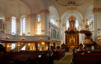 St. Michael's Church, Hamburg - Interior