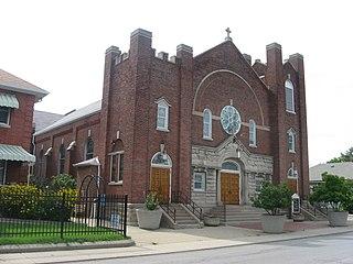 St. Philip Neri Parish Historic District Roman Catholic Church in Indianapolis