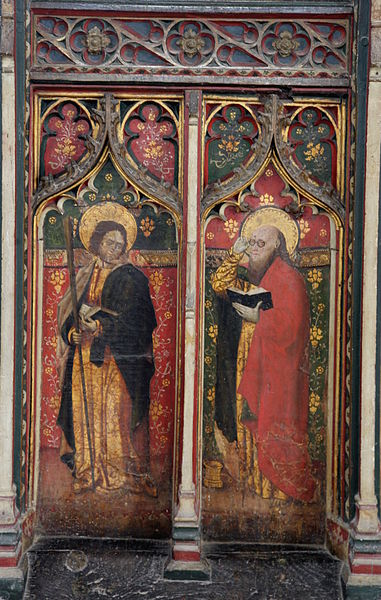 St Matthew in spectacles