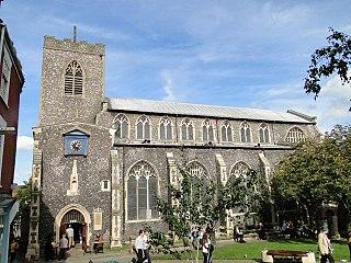 St Gregorys Church, Norwich Church in Norfolk, England