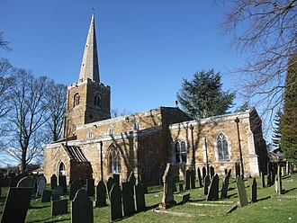 Ab Kettleby - Image: St James the Greater church, Ab Kettleby geograph.org.uk 2815176