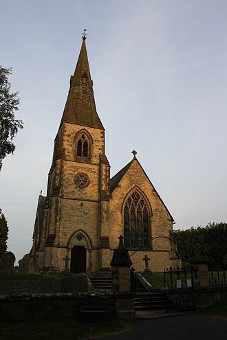 Welburn, Derwent - Image: St John the Evangelist Church Welburn (Nigel Coates)