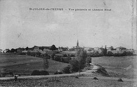 Saint-Julien-de-l'Herms in the early 20th century