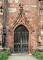St Mary's Church, Acton, south doorway - geograph.org.uk - 700558.jpg