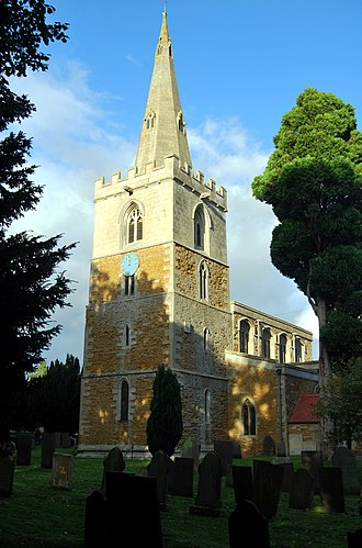 Wymondham, Leicestershire - St Peter's Church