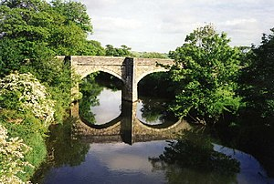 River Tamar - Higher New Bridge, near St Stephen by Launceston