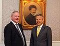 Staatssekretär Lopatka trifft russischen Vizeaußenminister Titow (8694819727).jpg