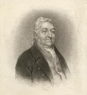 To Anacreon in Heaven - Portrait of John Stafford Smith, around 1820