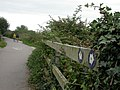 Stanpit, path markers - geograph.org.uk - 1431394.jpg