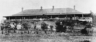 George Harris (Queensland politician) - Newstead House, circa 1920