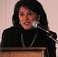 State Sen. Leah Vukmir speaks at the Racine Tea Party event on Jan. 13, 2013. (8379730778).jpg