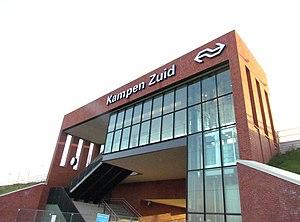 Kampen Zuid railway station - Image: Station Kampen Zuid (2)