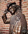 Statue of Guppo the Clown outside of the YMCA in Wenatchee, Washington.jpg