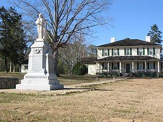 Protected areas of Georgia (U.S. state) - Liberty Hall in Crawfordville, Georgia