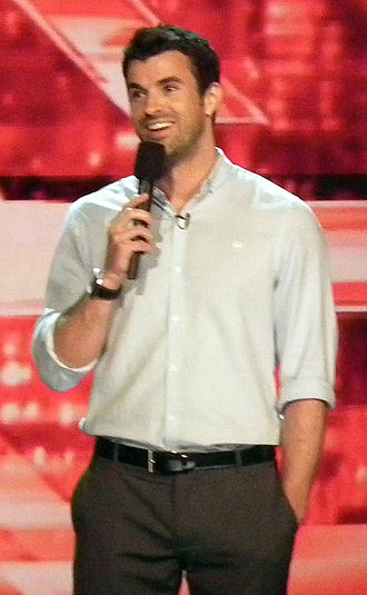 Steve Jones (Welsh presenter) - Jones presenting The X Factor USA in June 2011