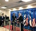 Steven Mnuchin and Benjamin Netanyahu in Jerusalem October 2018.jpg