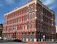 A historic building in Downtown Galveston