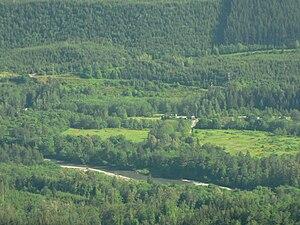 Stillaguamish River - North Fork Valley west of Darrington
