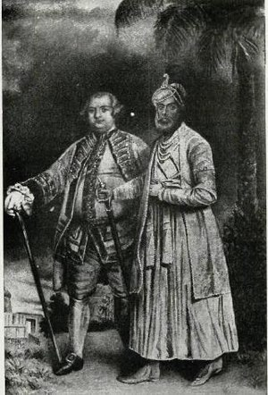 Stringer Lawrence - Image: Stinger Lawrence and Nawab Wallajah