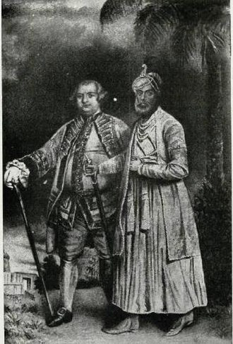 Madras Presidency - Stringer Lawrence who established the Madras Army with Muhammed Ali Khan Wallajah, the Nawab of Carnatic
