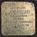 Stolperstein Bamberger Str 27 (Wilmd) Lucie Freund.jpg
