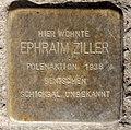 Stolperstein Brunnenstr 114 (Gesbr) Ephraim Ziller.jpg
