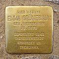 Stolperstein Marktstraße 45 Emma Grünebaum.jpg