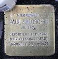 Stolperstein Sponholzstr 44 (Schön) Paul Saloschin.jpg