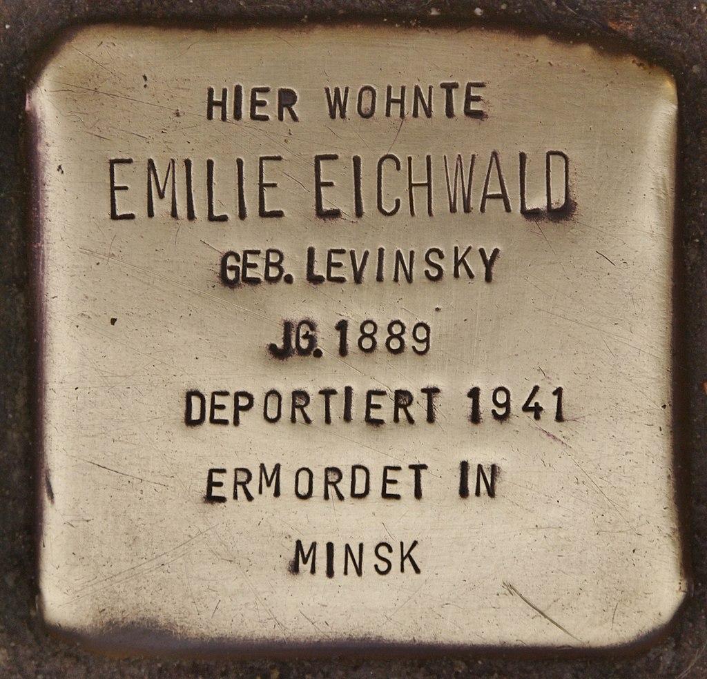 Stolperstein für Emilie Eichwald (Kappeln).jpg