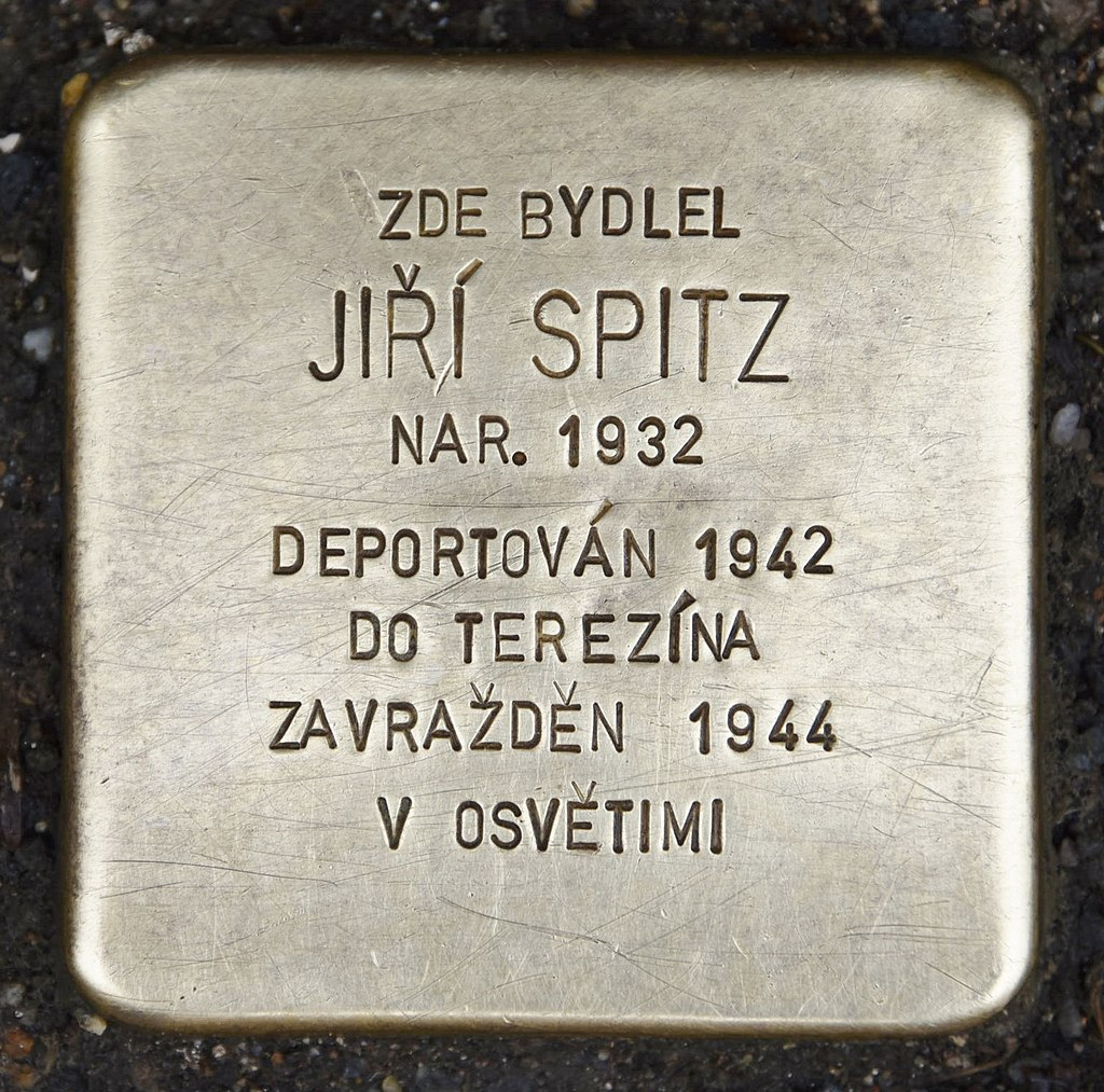 Stolperstein für Jiri Spitz.JPG