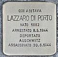 Stolperstein für Lazzaro Di Porto (Rom).jpg