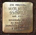 Stolperstein für Moric Schönfeld.JPG