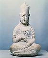 Stone Seated Bodhisattva at Hansongsa Temple Site, Gangneung.jpg