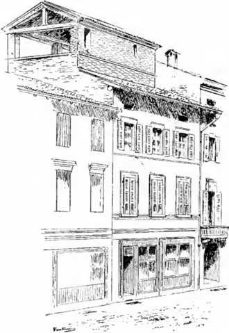 Antonio Stradivari - Antonio Stradivari's second house, at No. 2 Piazza San Domenico
