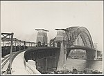 Stress testing on northern approach to Sydney Harbour Bridge, 1932 (8283754166).jpg
