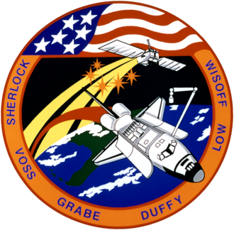 G. David Low - Image: Sts 57 patch