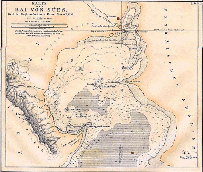 Bay of Suez, 1856.