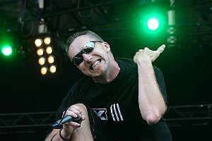 Electro-industrial - Johan van Roy, singer of Suicide Commando