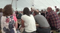 File:Summer Services 2018 - Reading of the Gospel in the Main Tent.webm