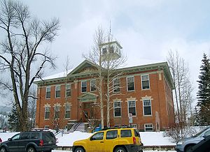 Summit County, Colorado - Image: Summit County court house in Colorado
