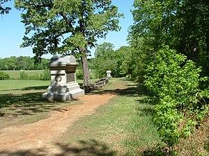 Shiloh National Military Park - Image: Sunken Road, Shiloh National Military Park